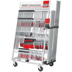 Bessey Clamp trolley ZW2, stocked (TG-2K/GZ-2K)