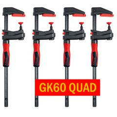 Bessey GearKlamp GK transmission clamp 600/60 QUAD PACK