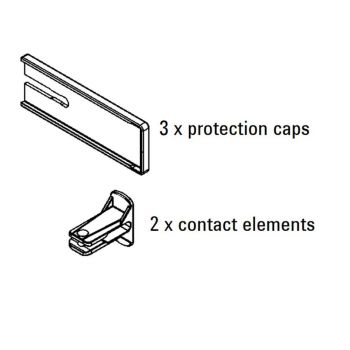 Bessey KBODY 3 x protection Caps and 2 x protection