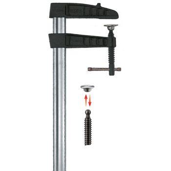 Bessey Heavy duty malleable cast iron screw clamp TGK250K 2500/120