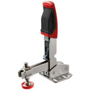Bessey Vertical toggle clamp with open arm and horizontal base plate STC-VH /40