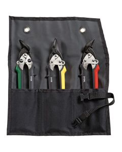 Bessey Shape and straight cutting snips-Set in pouch DSET15