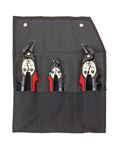 Bessey Shape and straight cutting snips-Set in pouch DSET29-15