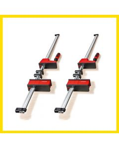 Bessey Vario K Body REVO 2.0 KREV100-2K 1000/95 Twin Pack 2 Clamps, Clamping force up to 8,000N, Very large parallel clamping surfaces