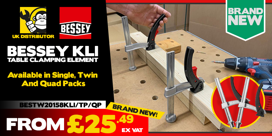 NEW Bessey KLI Table Clamps!