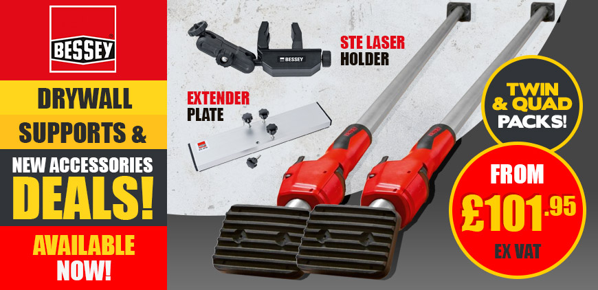 Bessey Drywall Supports & Accessories Deals